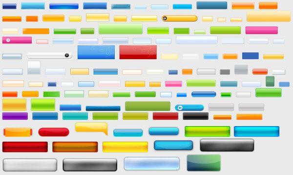 超炫的web2.0按钮素材