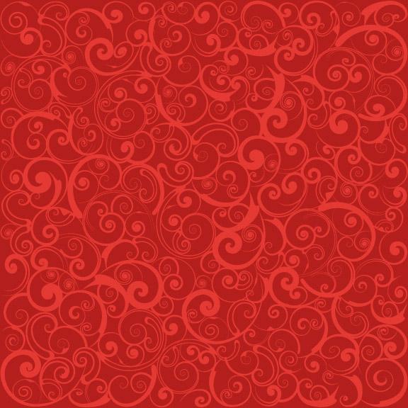 暗红色喜庆花纹网页背景46