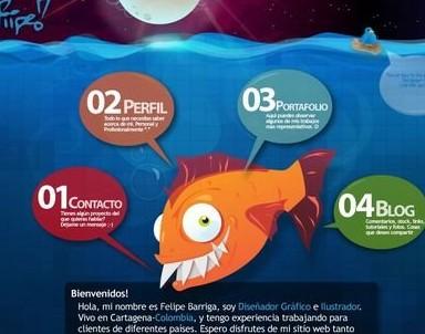 16款以水为主题风格的网页设计欣赏(上)