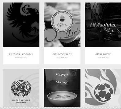 黑白灰三色的优秀网页设计