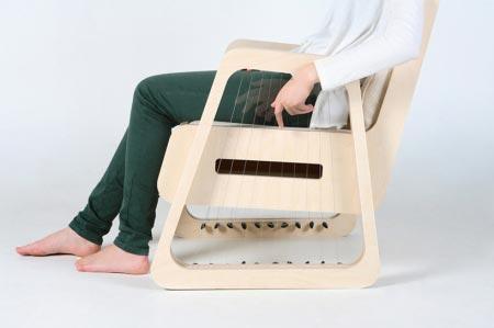 琴弦椅 给你创作的灵感