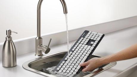 可冲洗式键盘