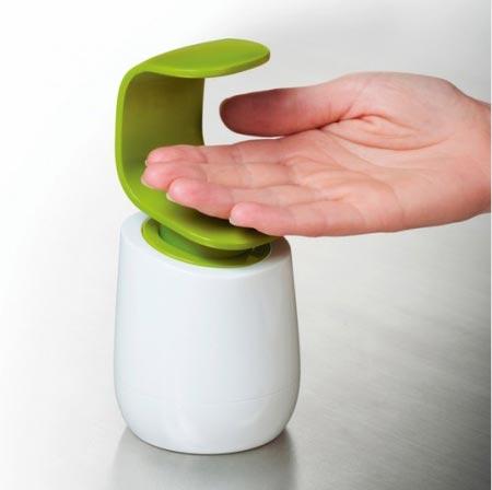 单手式背压皂液瓶设计