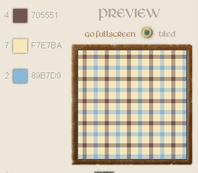 [小众网站] Tartan Designer - 在线生成苏格兰格子纹