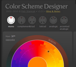 设计师必备-12个好用的在线色彩搭配工具网站