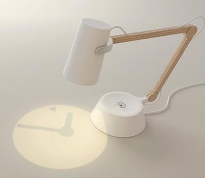 木质创意台灯 - 感受光阴的故事