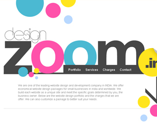 """二十例善于""""留白""""的网站设计欣赏"""