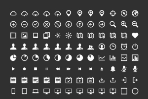 IKONS – 264 free vector icons