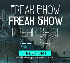 Freak Show Free Font