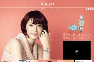 SHEEN – CASIO