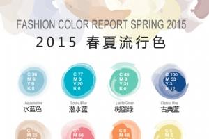 2015年春夏流行色和界面设计应用