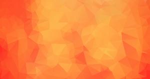 橙色多边形网页背景