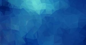 蓝色多边形网页背景