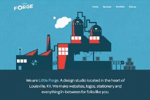 10个动态背景网页设计欣赏