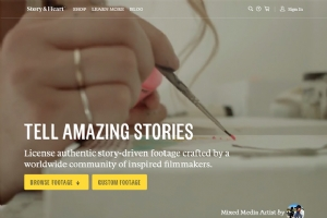 25个很不错的视频背景网站设计欣赏