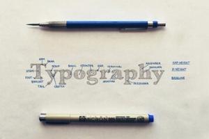 16个拥有精美字体的网页设计欣赏