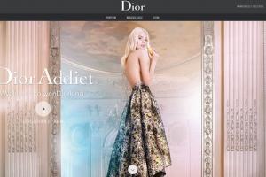 高端时尚范儿--法国最佳网站设计赏析