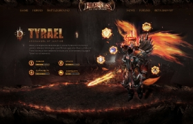 Heroes game(TYRAEL)