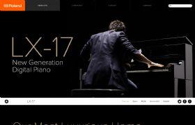 Roland 钢琴 LX-17