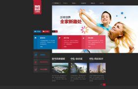 中弘控股网页设计