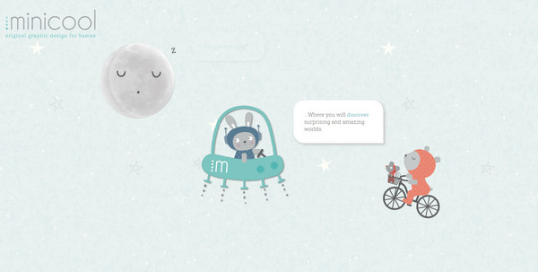 一组大气磅礴的太空主题优秀网页设计 三联