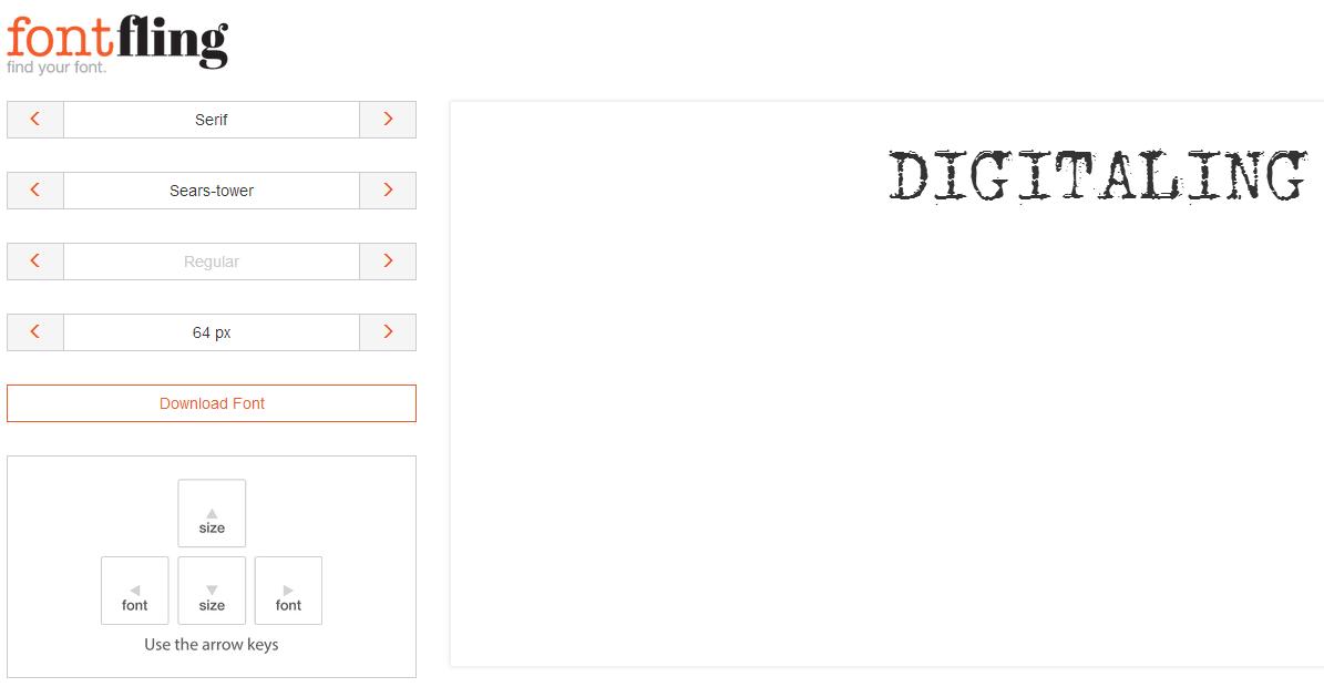 8个提供高质量英文字体免费下载的网站 三联