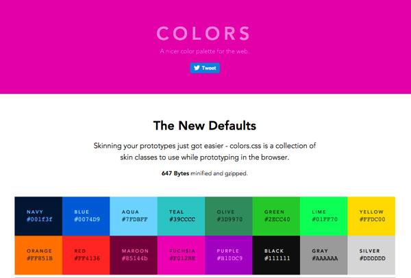 超实用的网页标准色升级版+高格调大图素材站 三联