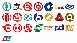 22个银行和支付宝财付通标志PNG图标素材