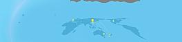 蓝色世界地图背景素材