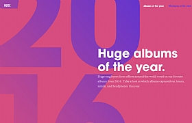 Huge albums of the year