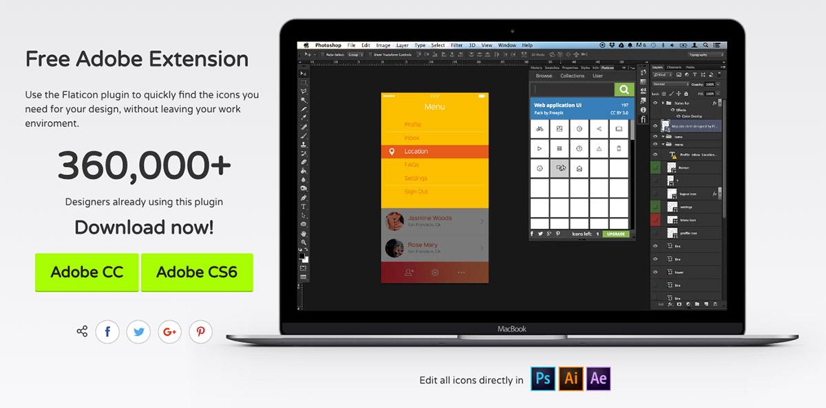 icons plugin premium