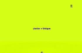 junni设计机构酷站欣赏