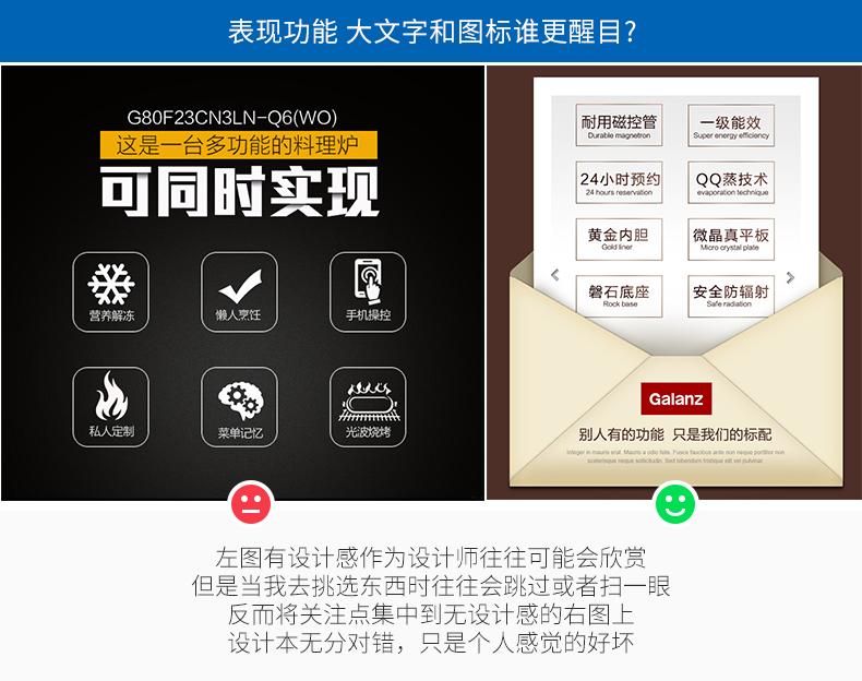 干货推荐!电商详情页对比分析活动信息、图标与图片、档位展现等