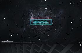 互联网科技公司网页设计