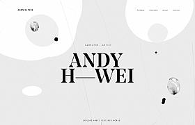 andyweiart日本创作酷站欣赏