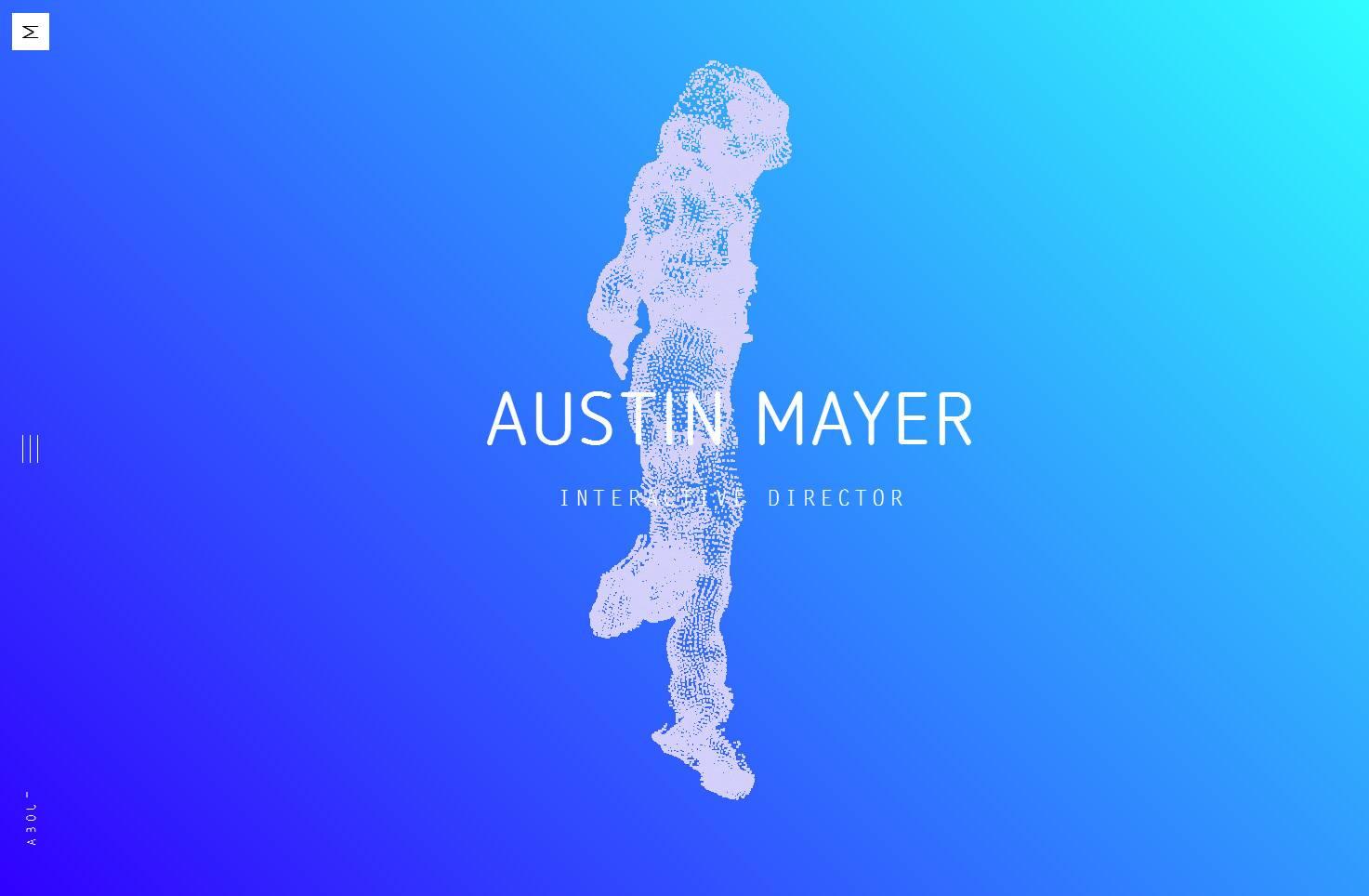 Austin mayer创意粒子酷站